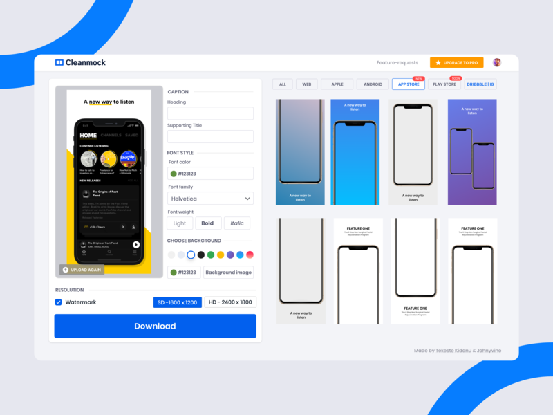 Cleanmock - Appstore Playstore dashboard design interaction animation minimal clean illustration mobile ios ux ui app johnyvino app store icon play logo mockup bundle mockup playstore app store cleanmock - appstore playstore