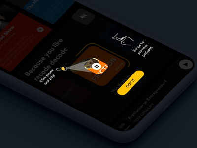 Tool Tips Podcast interface dashboard design interaction animation clean mobile ios ux ui app johnyvino brewer podcast cover podcast logo podcast art podcamp podcasting podcast brew