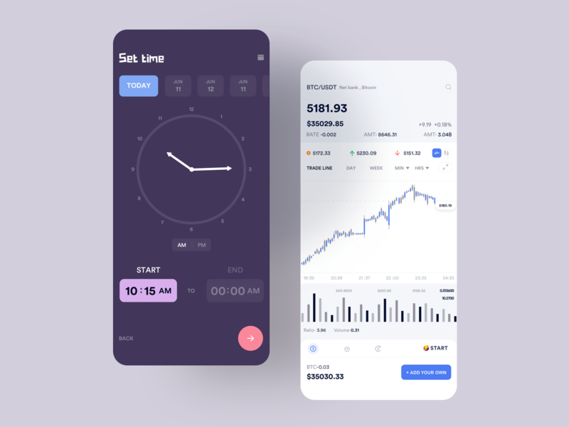 Set timer interaction animation clean mobile ios ux ui app johnyvino blogger alram alaska alarm timers blockchain cryptocurrency blockchaindevelopment blockchaintechnology blockchain game blockchain timer