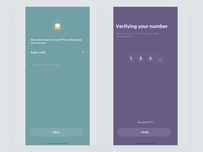 Verification ios ux ui app johnyvino options connection team together power connections connection data visualization database dataviz data onboarding opt verification generated generate codes