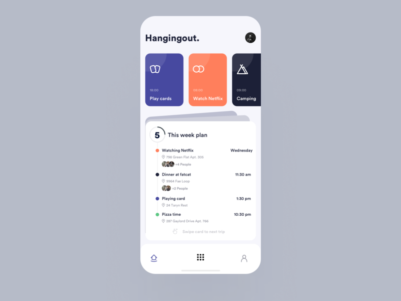 Hanging-out mobile ios ux ui app johnyvino create new helps hanging area chart area code area 51 area friends of type friendsgiving friends list friendship friends create account create