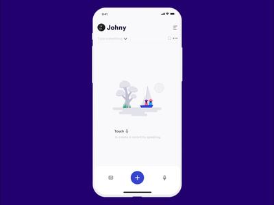 Voice Language Translator clean transparent mobile ios ux ui app johnyvino translator languages language learning language school