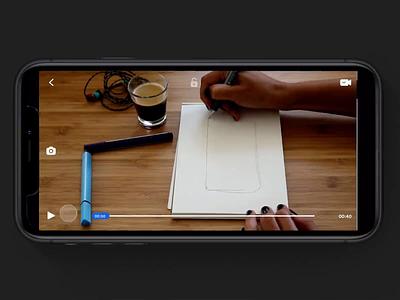 Screenshot & make gif from your youtube video ui app johnyvino voice screenshots video app audio player pause video player whatsapp timeline capture gif recording video screenshot