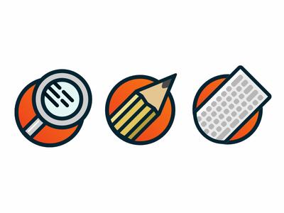 Supermassive Icon Set website webdesign ui icons