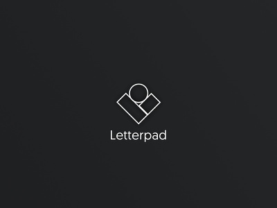 Letterpad Logo opensource react cms branding logo