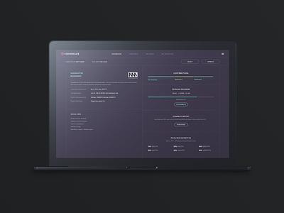 Cosyndicate UI design website branding typography user interface webapp dashboard crypto product productdesign ux uiux ui