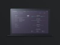 Cosyndicate UI design