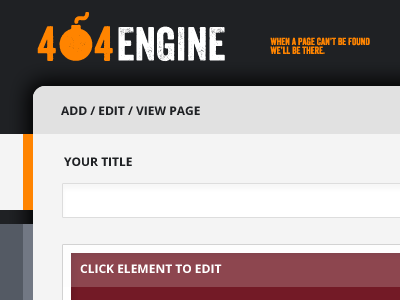 404Engine New Page