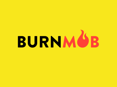 Burnmob logo