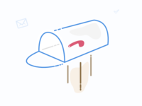 Mailbox illustration mailbox mail illustration