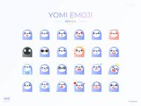 yomi emoji design