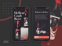 Daily UI Redesign-Hellcat Craft Beer