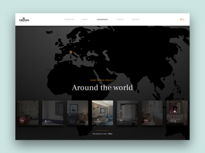 Interactive world map element user experience user interface interactive web digital