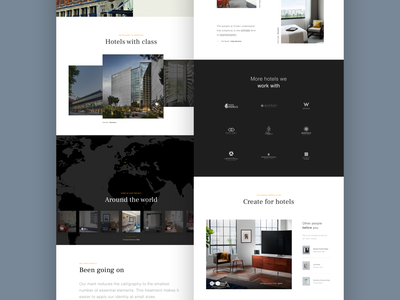 Crown - Information element product world clients hotels hotel hospitality ux webdesign user experience digital typography ui design web interactive user interface