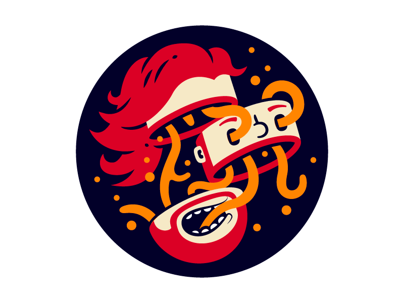 Profile Pic montpellier thierry fousse hair cut weird fun tentacle beard picture profile illustration
