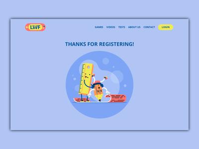 Register Page illustration
