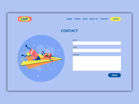 Contact Page illustration