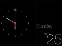 Retina Perfection, iPhone Clock
