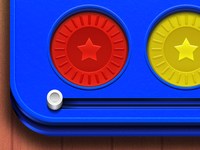 Connect 4 App icon (full view 512x512)