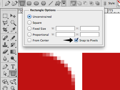 Snap To Pixels Tip photoshop tip snap to pixels