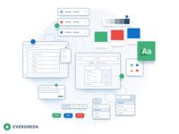 Evergreen Design System —Spot Illustration