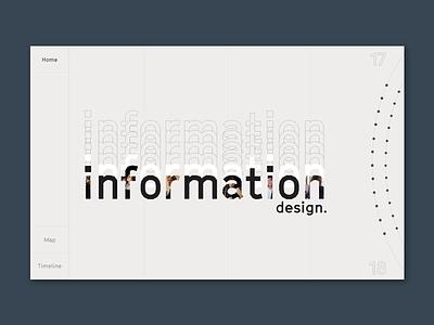 Information Design master information webdesign design ux ui