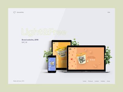Portfolio experiment portfolio grey white minimal webdesign ui ux