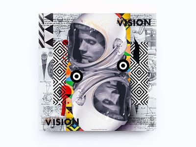 Team Vision & Mission fun dailyuichallenge dailyui posterchallenge challenge design illustration dada dadaism modern minimal