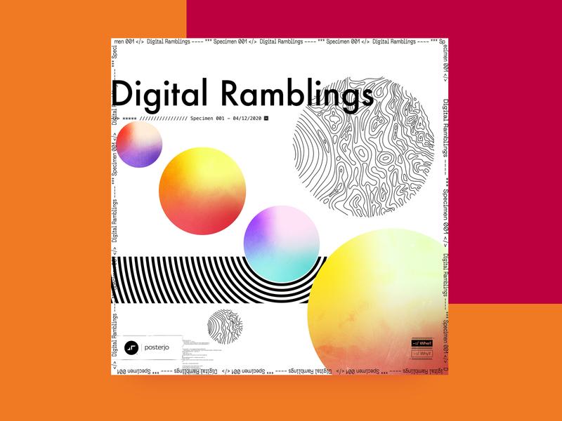 newgen posterjo #16 vector illustration fun posterchallenge design cool poster colors modern minimal