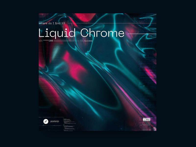 newgen posterjo #22 cool modern posterchallenge poster colors minimal liquid octane octanerender