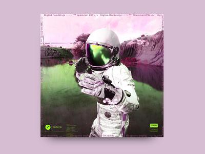 newgen posterjo #36 posterchallenge poster colors astronaut 3d octane render octane