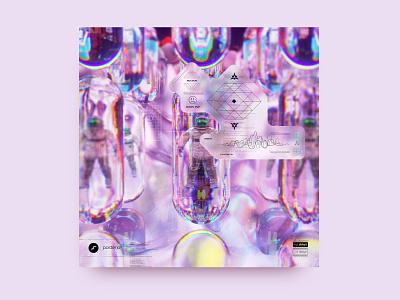 newgen posterjo #44 futuristic minimal challenge posterchallenge design cool colors poster 3d art octanerender 3d