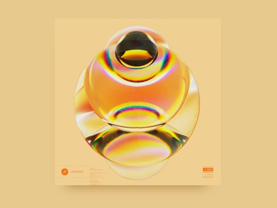 newgen posterjo #50 cinema 4d 3d art blender octane render octane sphere poster colors minimal