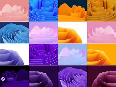 Windows 11 inspired wallpapers win 11 win11 microsoft fluent wallpaper windows 11 colors modern minimal