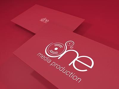Freebie Logo One Media one spindle music logo freebie
