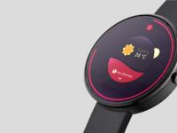 Mockup minimal smartwatch by joan sterjo