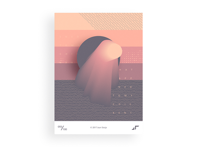Poster Day #093 posterchallenge poster modern minimal design colors challenge