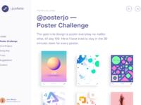 Poster challenge