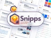 Snipps Design System