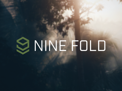 Nine Fold badge nine 9 chevron military