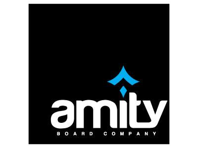 Amity Board Company sup logo design longboard wakeboard snowboard board board