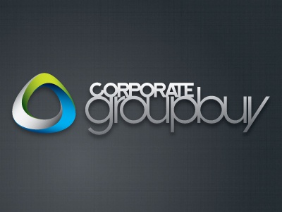 corporategroupbuy.com Logo logos graphic design circles intertwine