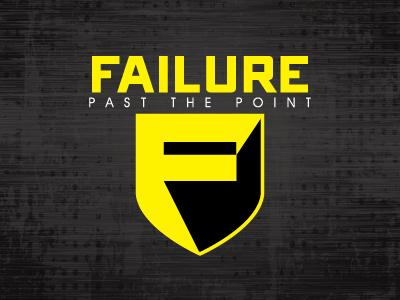 Failure logos graphic design failure f shield