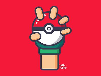 Poké Ball pokemon hype hype flat trainer pokemon trainer ash pikachu poke ball pokeball pokemon