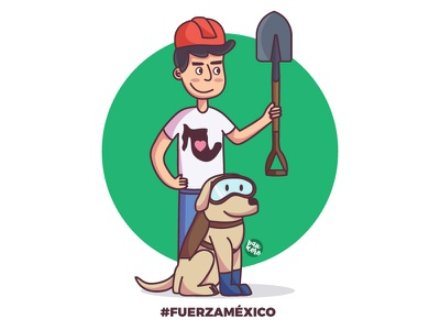 Fuerza Mexico dogs rescue dog love people community earthquake mexico city mexico