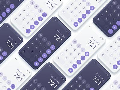 UI Daily | Calculator ui ux daily ui app adobe xd ui design design clean ui