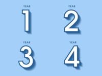 Years 1 - 4
