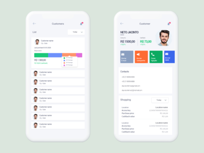 List detail mobile app mobile design uxdesign interaction creative uidesign mobile ui ux design list interface app mobile app
