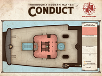 """Conduct"" Game Board - 2nd Class Lounge"