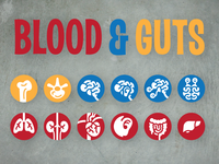 Blood and Guts Bullet Icons
